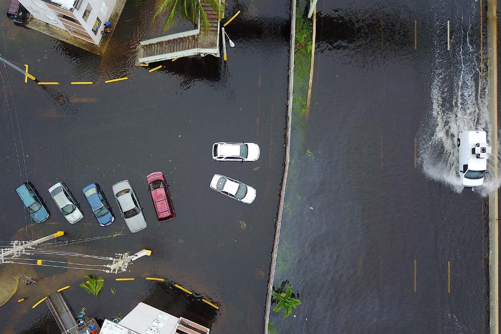 Пуэрто-Рико, 20 сентября 2017. (Фото Ricardo Arduengo):