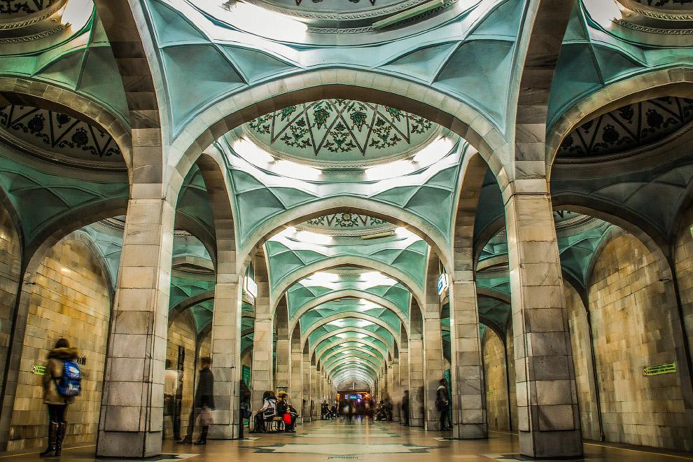 14. Станция Узбекистанская: