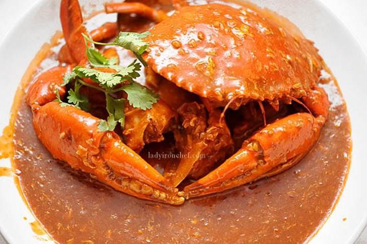 22. Сингапур: краб чили   Главным ингредиентом этого вкуснейшего блюда из морепродуктов являетс