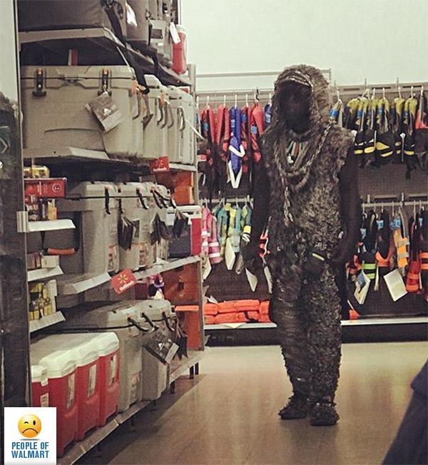 Фрики и чудики в магазинах Walmart