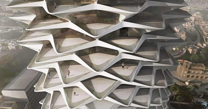 The prolific  Zaha Hadid Architects  have prepared a treat for every architecture mav