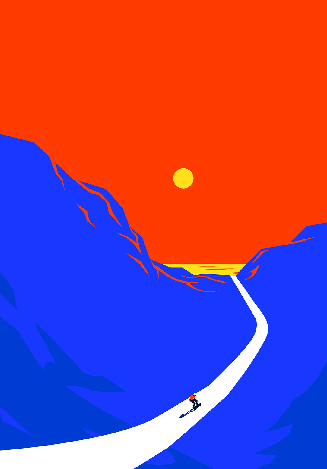 Land Escape by Neil V Fernando
