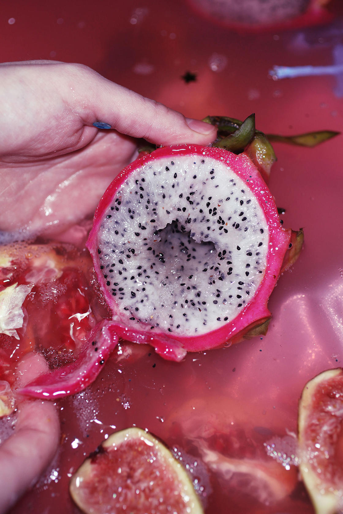 The organic and ultra-colorful photographs of Maisie Cousins