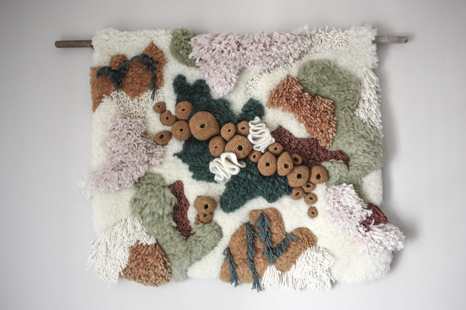 Nature-Based Textiles by Vanessa Barragao Highlight Ecosystems Above and Below the Sea