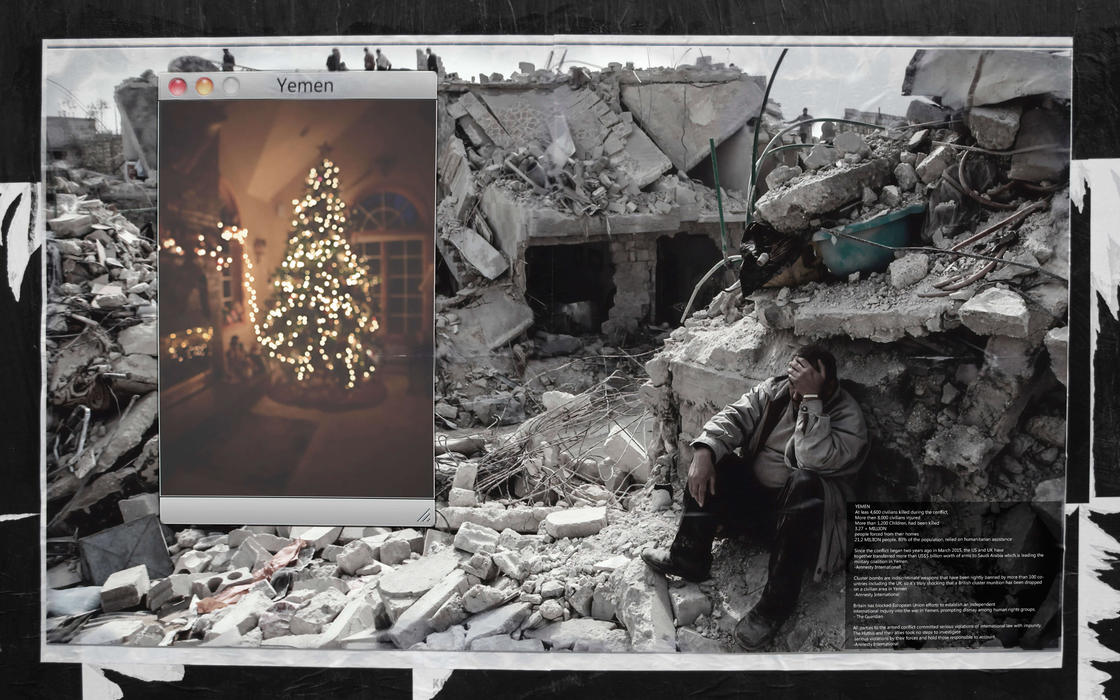 Christmas In Yemen – This street artist reminds us that these children are living a real hell