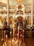 Протоиерей Сергий Юрин совершил Литургию в храме Всех святых в земле Российской просиявших в Лянусе