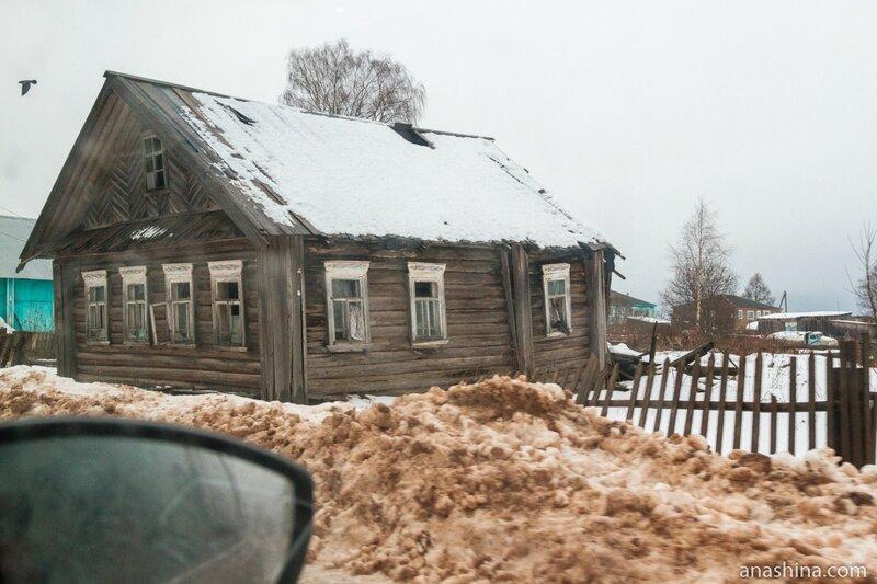 Заброшенный дом в Девятинах