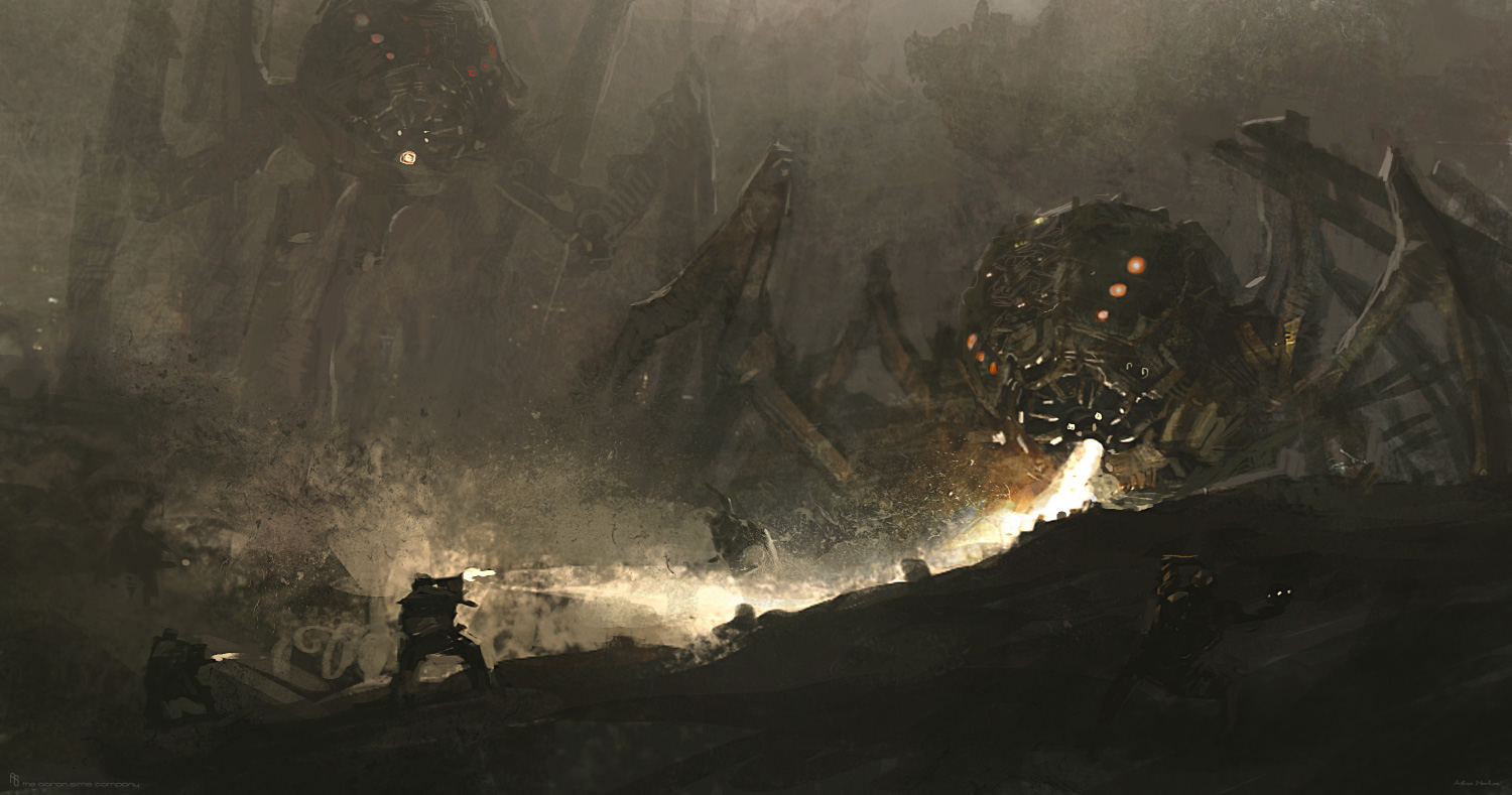 Edge of Tomorrow Concept Art by The Aaron Sims Company