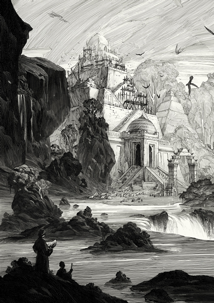 Amazing Black & White Illustrations by Nicolas Delort