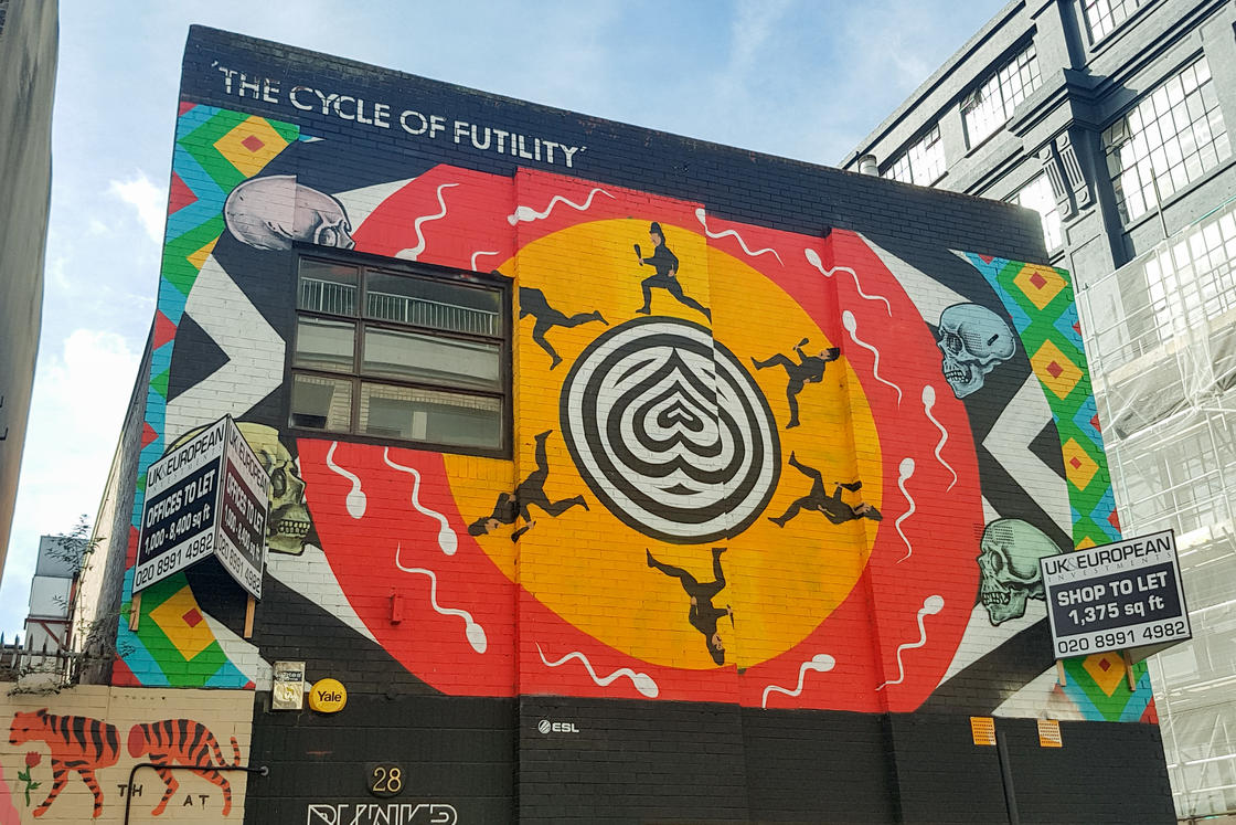 London Street Art – A street art walk through London