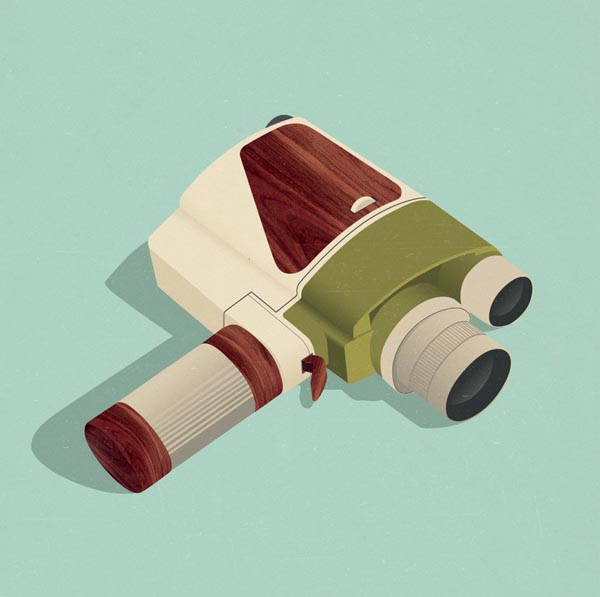 Retro Vintage Inspired Illustrations - Jack Hughes