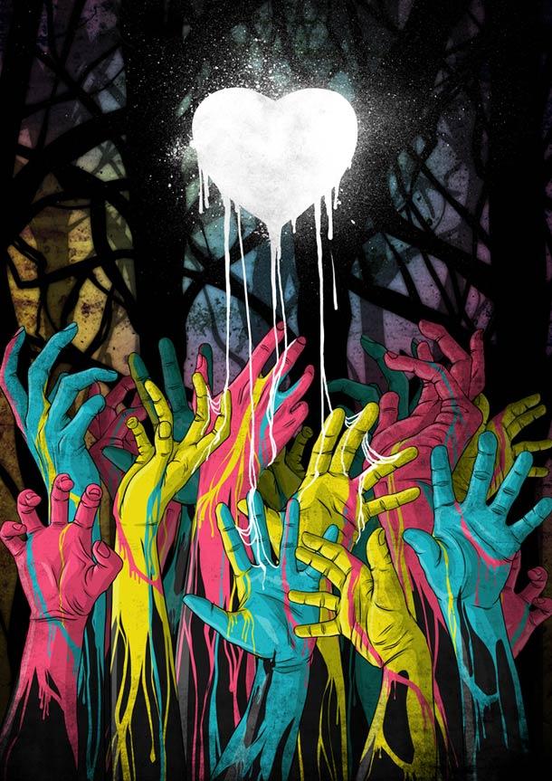 Zombies Disney Princesses - Witit Karpkraikaew - Clocktowerman