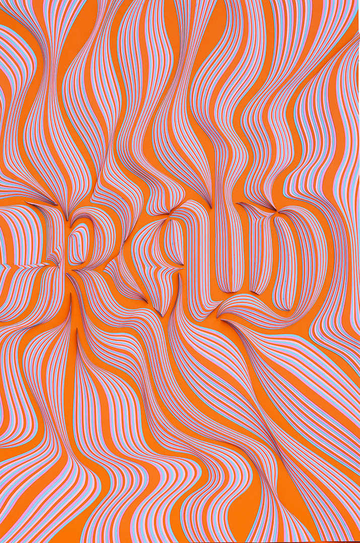 Incredible Layered Paper Typographic Artworks (6 pics)