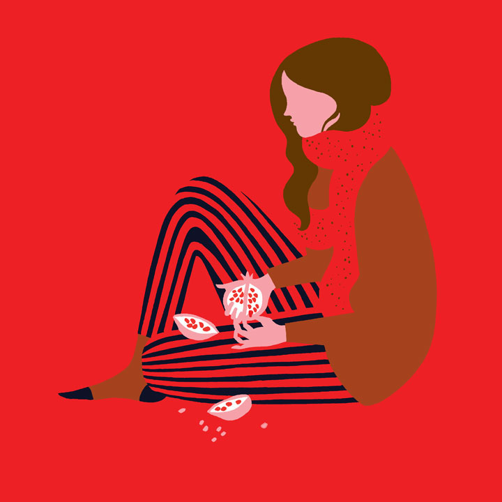 Feminine And Vivid Illustrations By Karolin Schnoor
