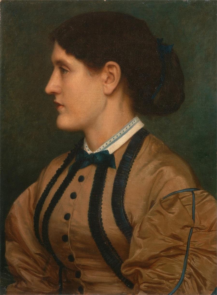 1864 Эльза Эстлейк (Eliza Eastlake) Нью-Хейвен, Йельский центр британского искусства