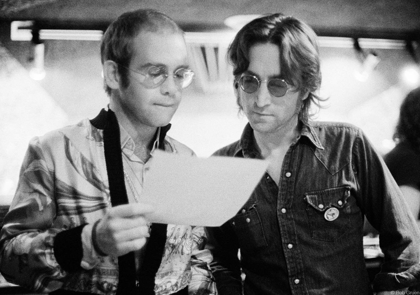 1974. Элтон Джон & Джон Леннон