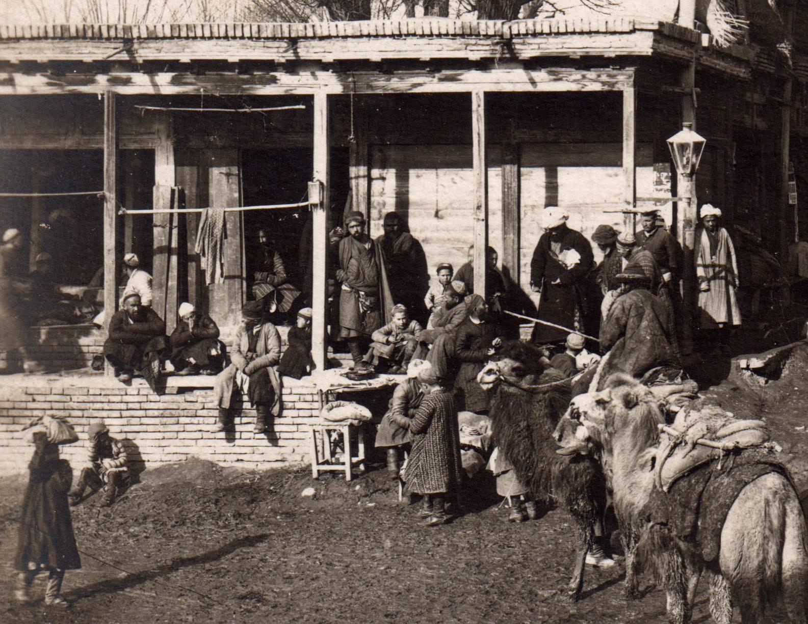 На базаре в старом городе