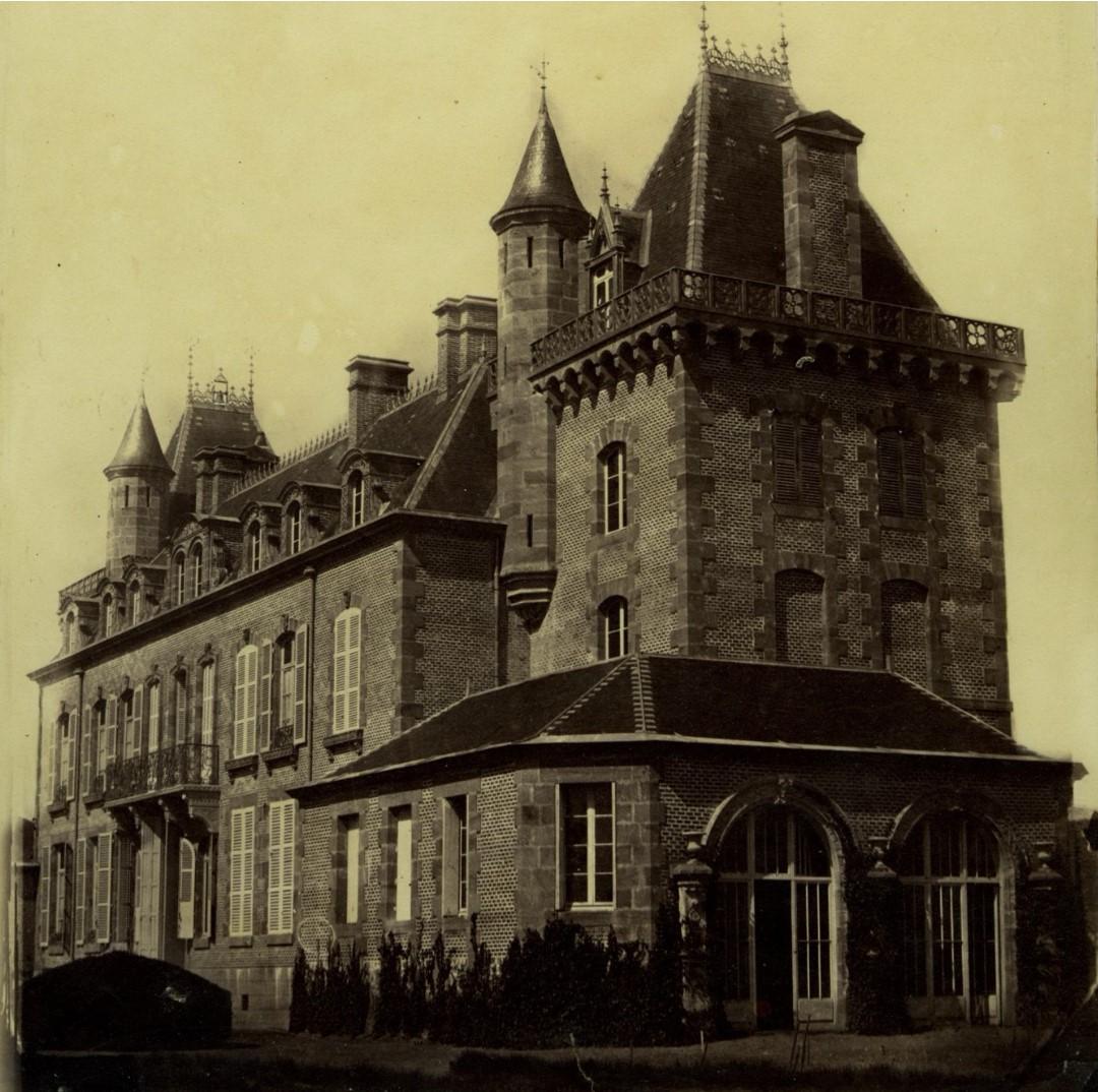 1860-е. Шато Ешероль