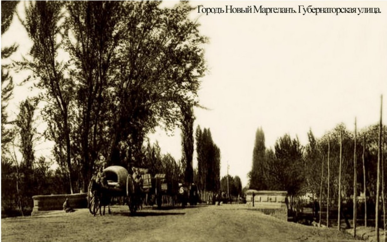 Новый Маргелан. Губернаторская улица
