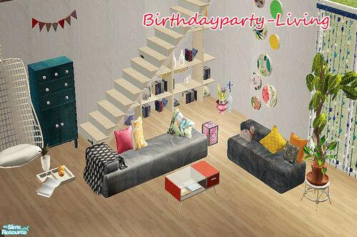 Birthdayparty - Living by steffor