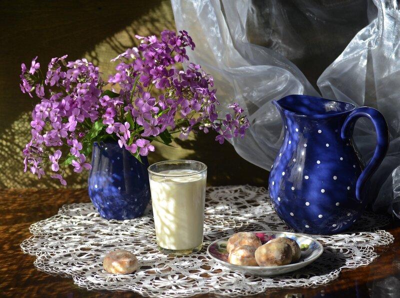 Летний завтрак.