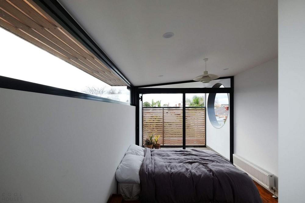 Полукруглый дом в центре Мельбурна