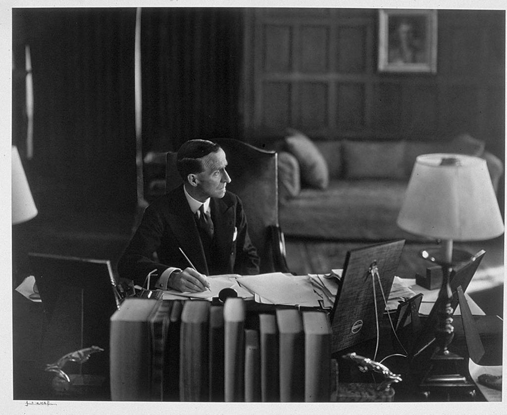 Господа лодже tweedsmuir (Джон Бьюкен) в офисе1938