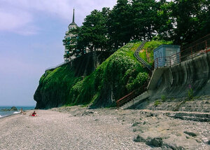 Пляж в Цихисдзири