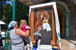 По вопросам семьи помолились перед Святогорской иконой