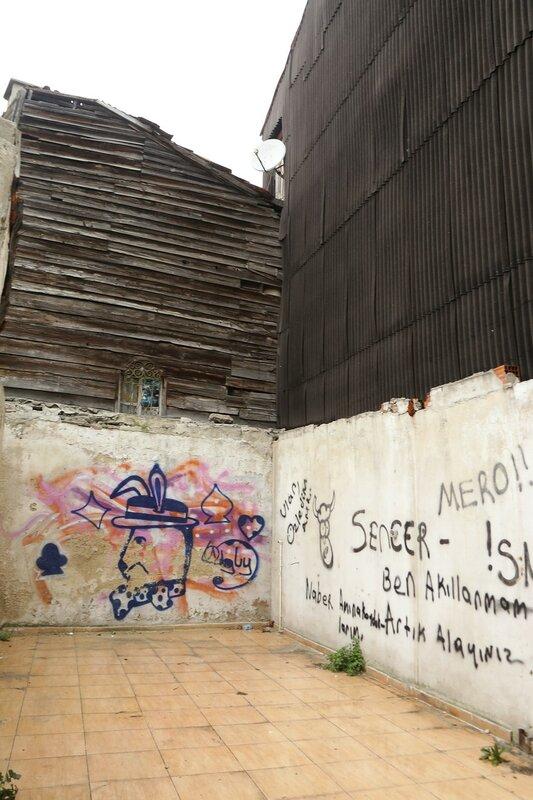 Стамбул. Улица Акбыюк Деирмени (Akbıyık Değirmeni Sokak)