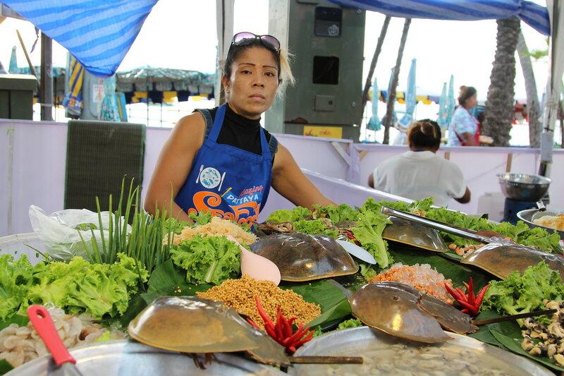 Фестиваль морепродуктов Amazing Seafood Festival 2017