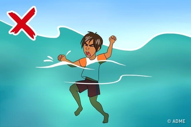 Неудивительно, что человек, очутившийся воткрытом водном пространстве, испытывает дикий страх засв