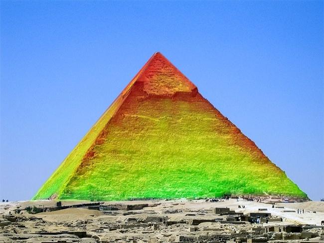 © pixabay  В2016 году были проведены работы поизучению пирамиды Хеопса методом инфракрасной