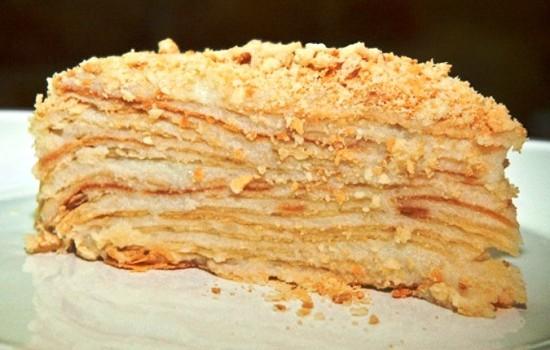 «Наполеон» Особым шиком в кулинарно-пирожной среде считалось пирожное «Наполеон», которое выглядело