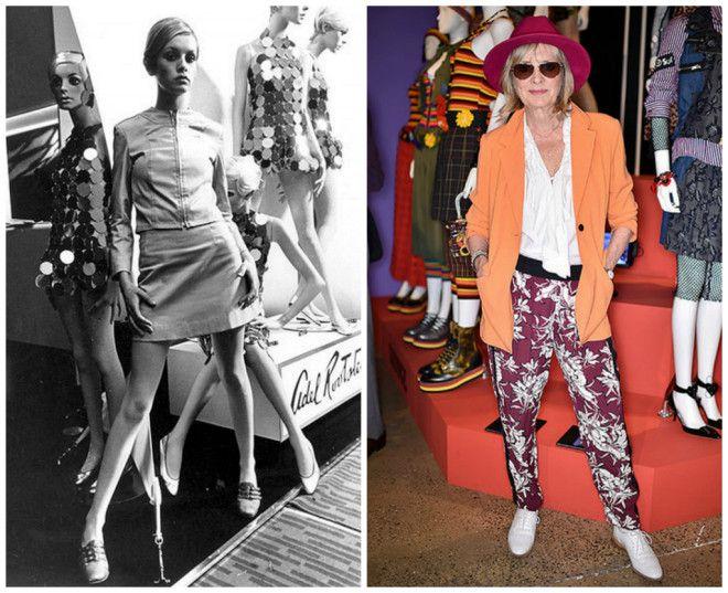 Твигги была лицом Лондона 60-х, но, несмотря на грандиозный успех, девушка решила завершить модельну