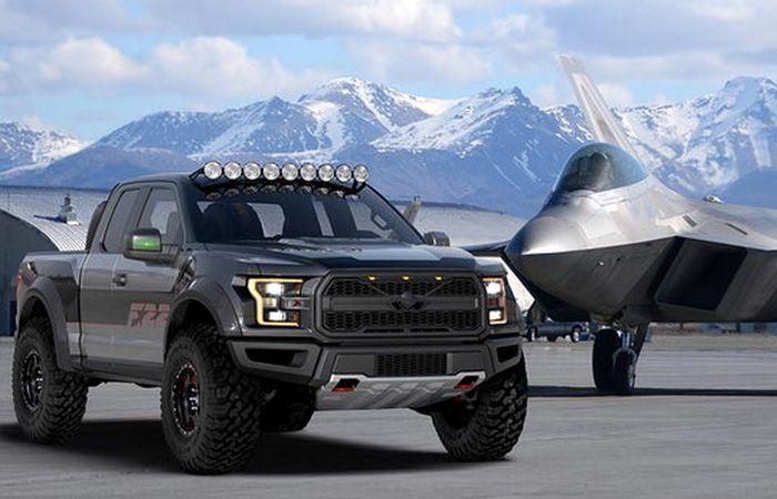 Ford выпустил роскошный пикап с крыльями для самых смелых автомобилистов (6 фото)
