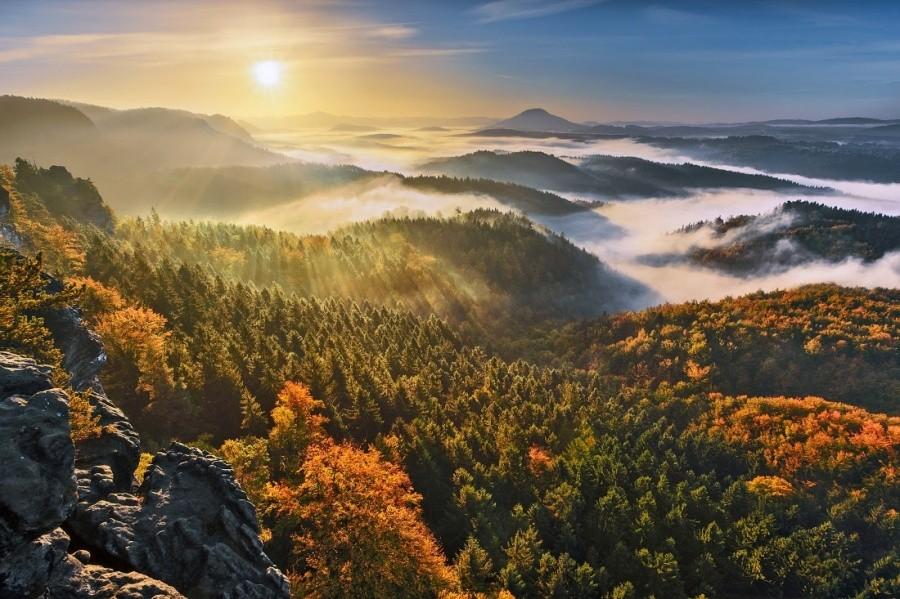 17. Национальный парк Чешская Швейцария.