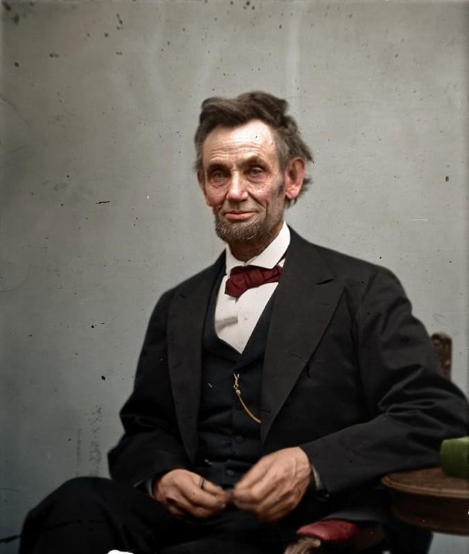 Авраам Линкольн. Февраль 1865 года.