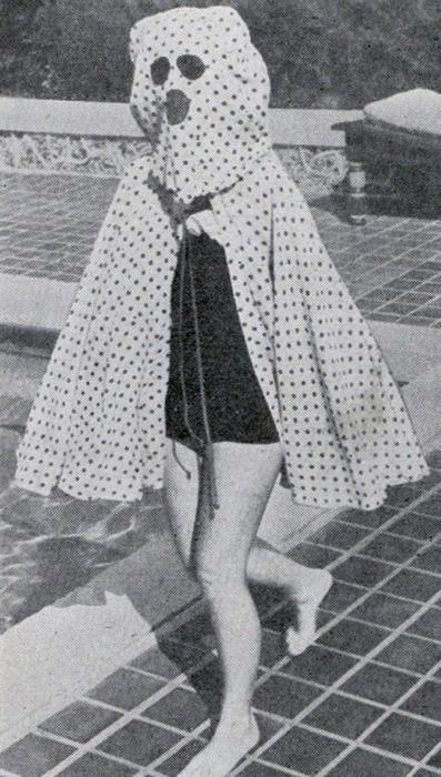 Солнцезащитного крема не существовало до середины 1940-х годов, и любители поваляться на пляже в