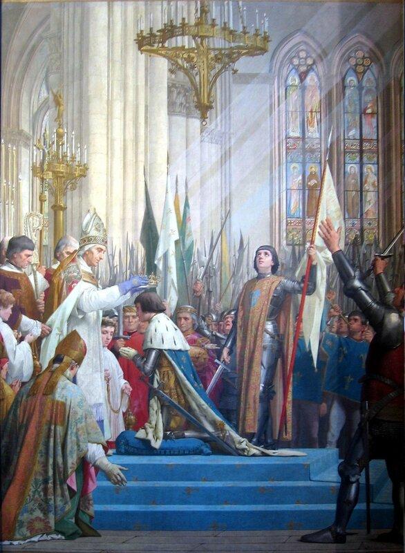 Sacre à Reims de Charles VII