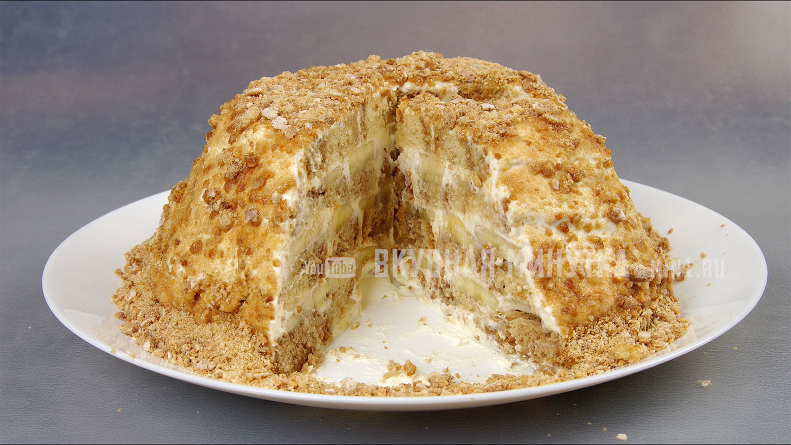 Торт БЕЗ ВЫПЕЧКИ за 10 минут и всего из трех ингредиентов!