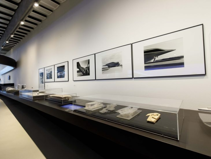 Zaha Hadid in Italy at the MAXXI Museum