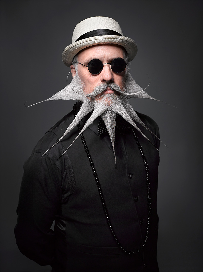 Absurd Portraits from the National Beard & Mustache Championships by Greg Anderson