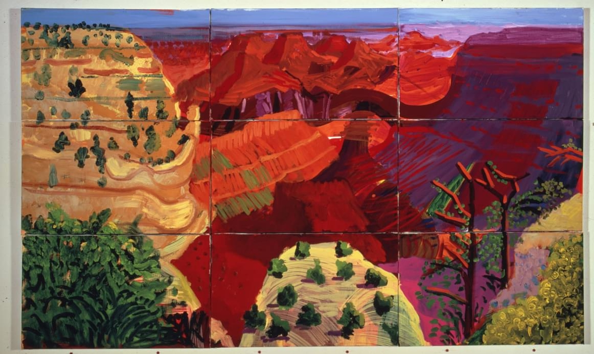 Credit photo : 9 Canvas Study of the Grand Canyon, 1998