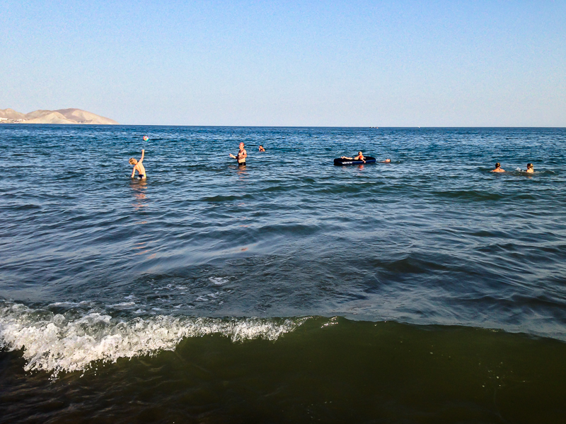 Хорошее море в Тихой Бухте