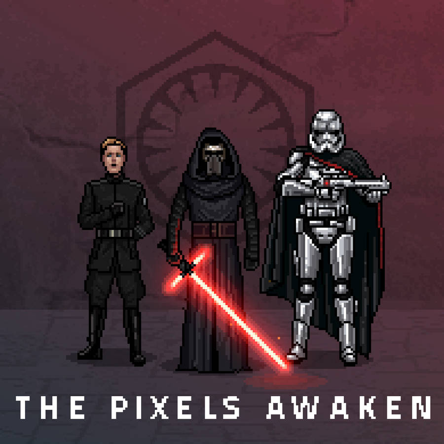 Star Wars Pixelated Gifs