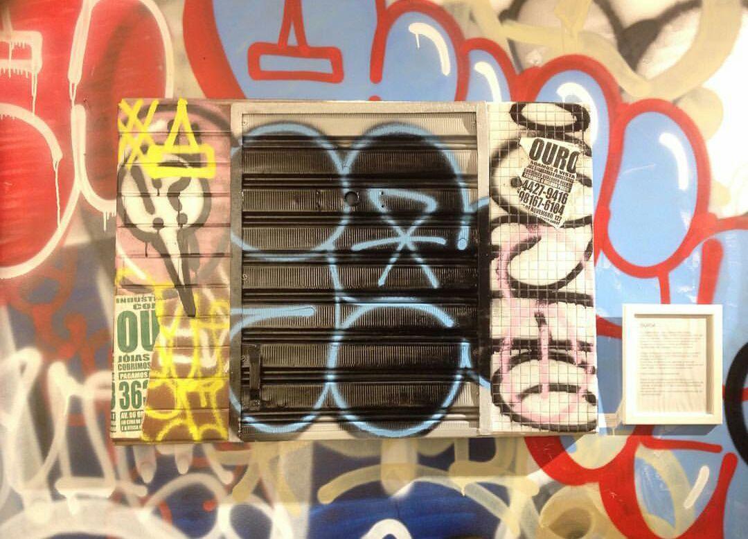 Caligrafia urbana domina galeria de arte (8 pics)