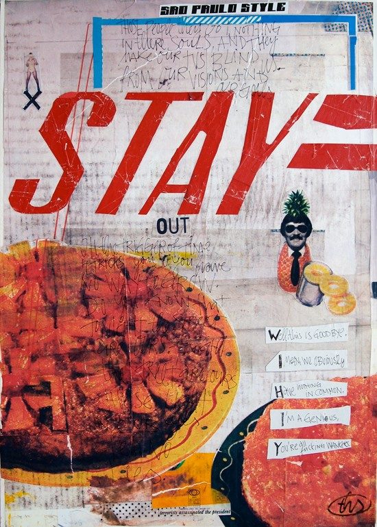 Mixed Media - Collage - Thomas Schostok - THS