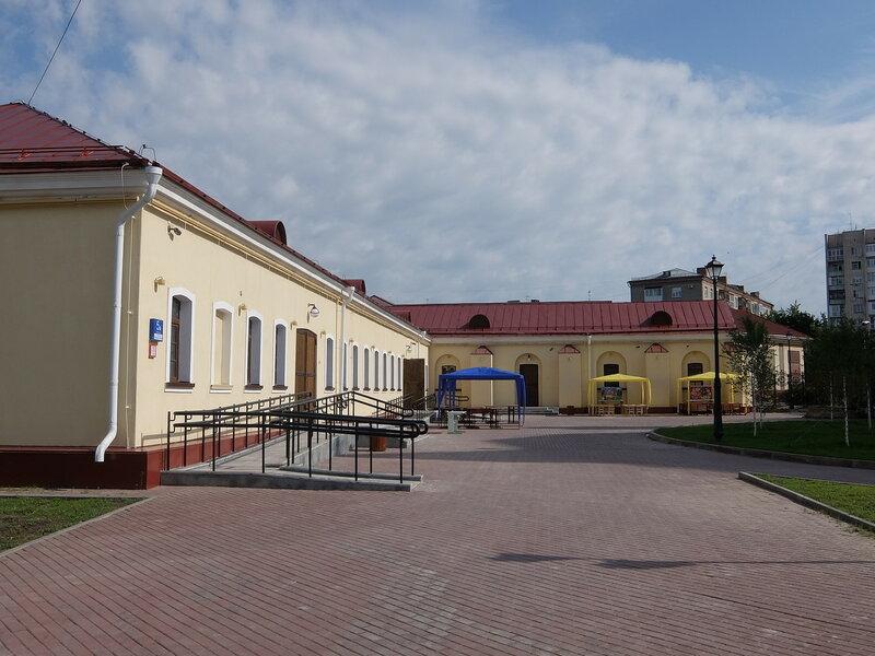 Казармы Омской крепости