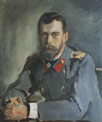 «Портрет императора Николая II» 1900гХудожник - Серов Валентин Александрович.